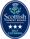 Visit Scotland Three Star Self Catering Logo